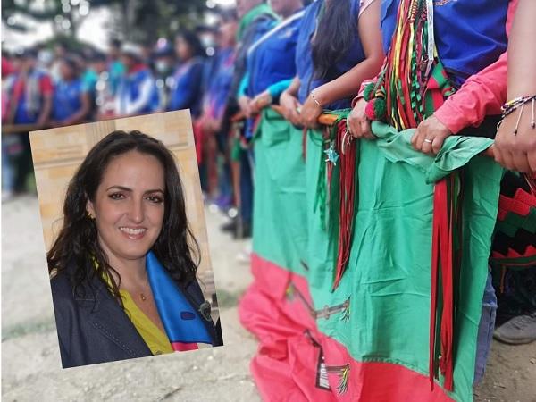 Cric denunciará a la senadora María Fernanda Cabal