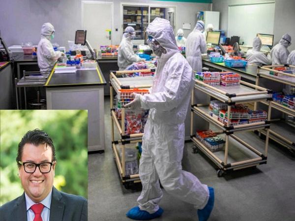 Coronavirus: nariñense fue clave en la importación de 50 mil pruebas contra la enfermedad