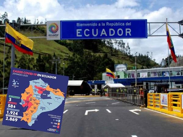 Coronavirus se salió de control en Ecuador y tiene a merced a Nariño