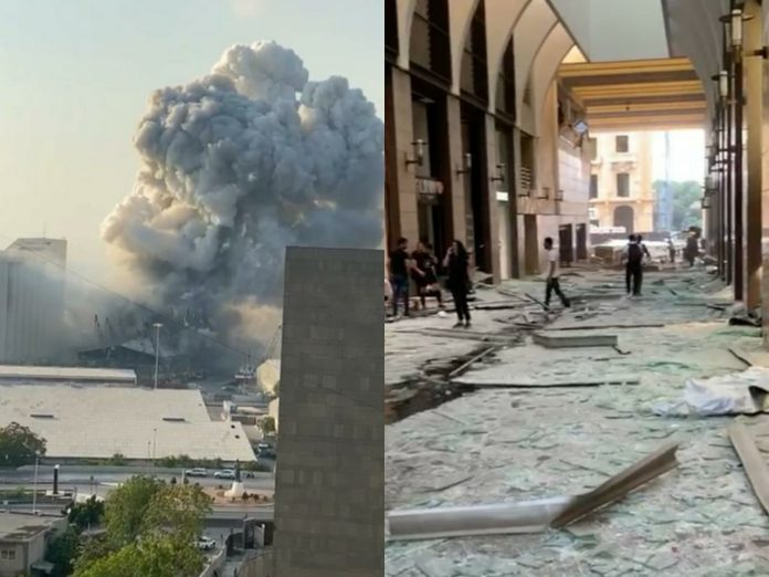 el químico que explotó en Beirut