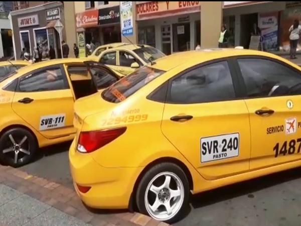 En Pasto más de 3.000 taxistas protestarán por la habilitación de plataformas técnologicas