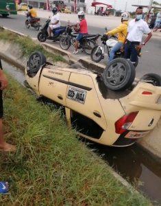 Vía húmeda habría causado accidente de tránsito donde murió motorizado en Barranquilla - Noticias de Colombia