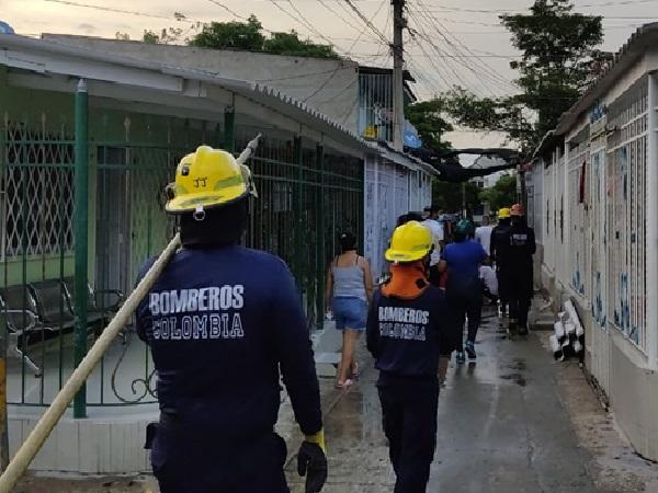 Funcionarios de la Alcaldía de Soledad atienden emergencias por daños ocasionados por las lluvias - Noticias de Colombia