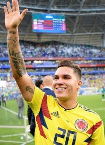 Juanfer vuelve a la convocatoria de la selección Colombia