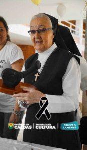 Valle de la Cultura del Luto, falleció la Hermana Virginia Lahidalga, una de las fundadoras del Festival Mono Núñez - Noticias de Colombia