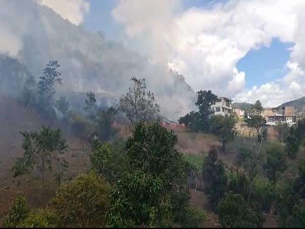 Voraz incendio a esta hora en el municipio de El Tambo, preocupa afectaciones en cultivos