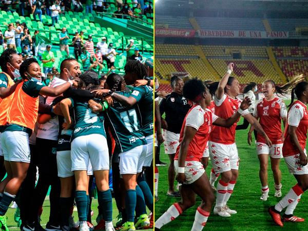 Deportivo Cali vs. Santa Fe: la gran final de la Liga Betplay femenina - Noticias de Colombia