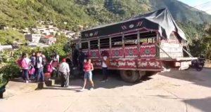abismo en Páez Cauca chiva sin frenos