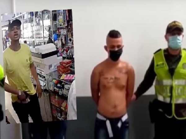 Hace un año se había dado bala con la Policía: Jordis, ladrón reincidente en Barranquilla - Noticias de Colombia