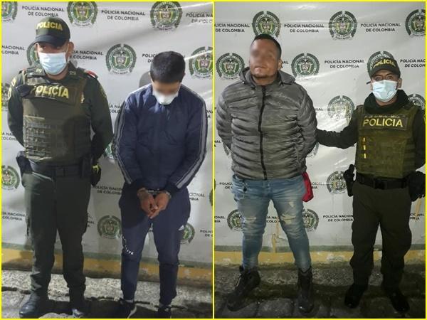Por fuga de presos capturaron a Cristian y Juan que violaban medida domiciliariaen Pasto